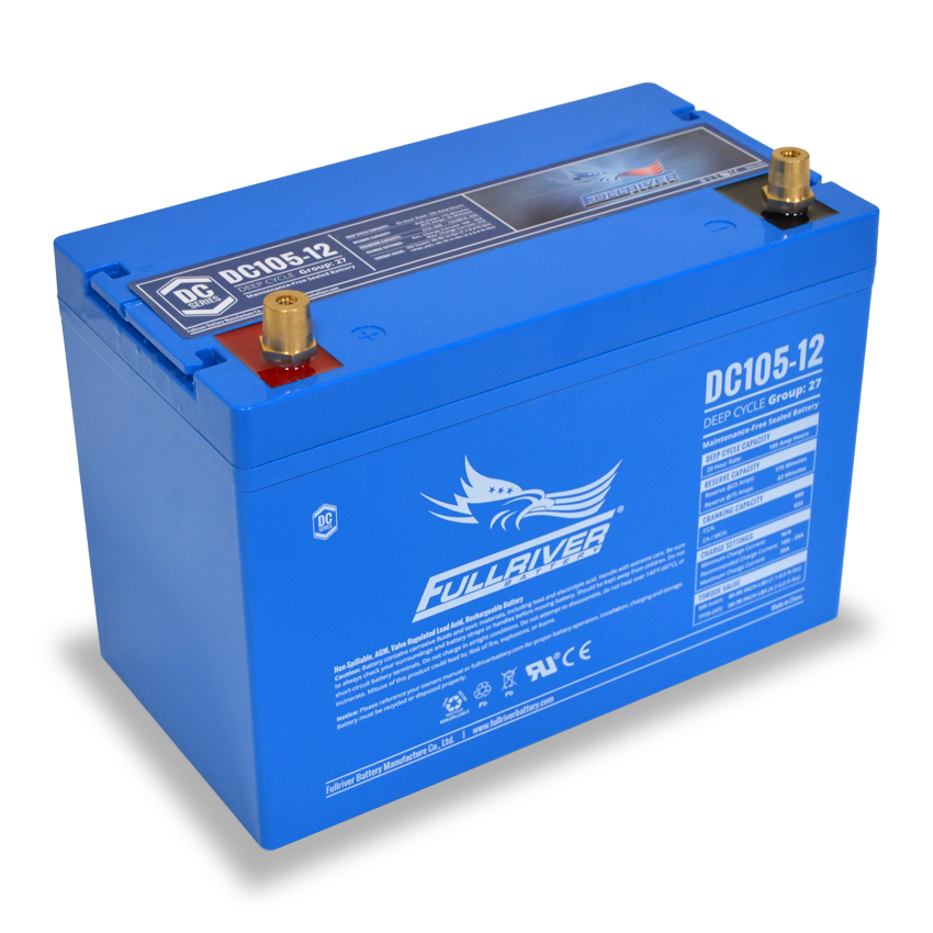 Fullriver Battery Dc105 12 Product Information